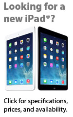 Apple iPad specs, prices, availability from Connecting Point