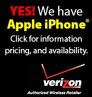 Yes! We now carry Apple iPhone. Click for models, pricing, and availability.