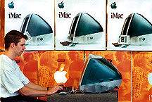 Connecting Point's own Scott Farmer takes the original Apple iMac for a test drive - August 16, 1998
