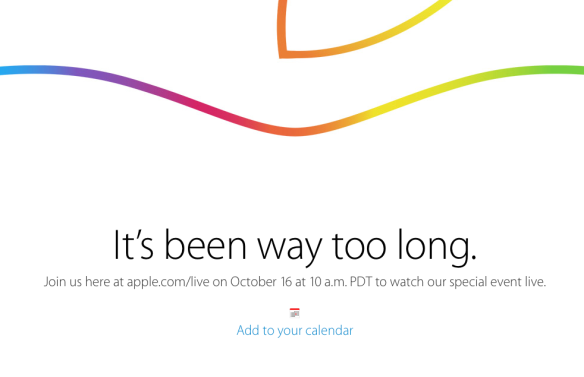 Apple Live Event October 16, 2014 - Watch it live