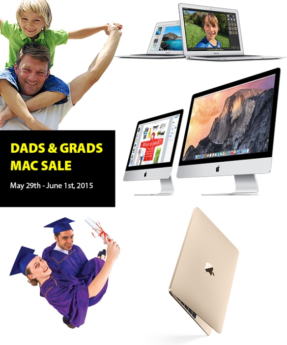 Connecting Point's DADS AND GRADS MAC SALE - May 29th-June 1st, 2015