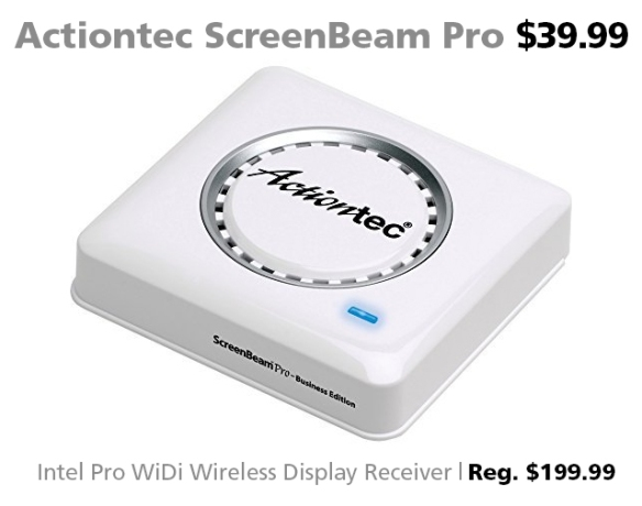 Actiontec ScreenBeam Pro Business Edition $39.99 (reg. $199.99)