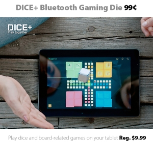 DICE+ Bluetooth Gaming Die for 99 cents
