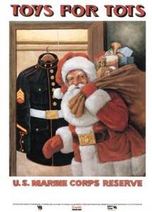 POSTER - USMC Reserve Toys for Tots